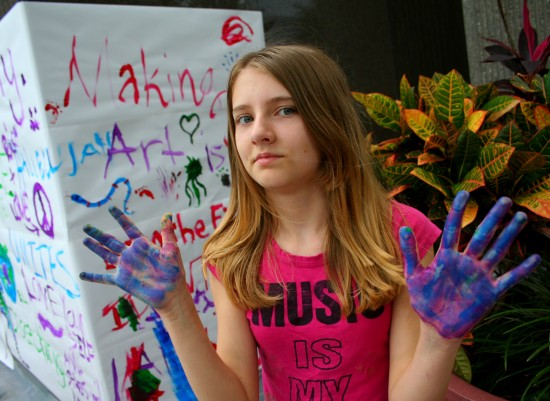 art paint hands florida tampa
