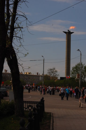 tver festival evening flame
