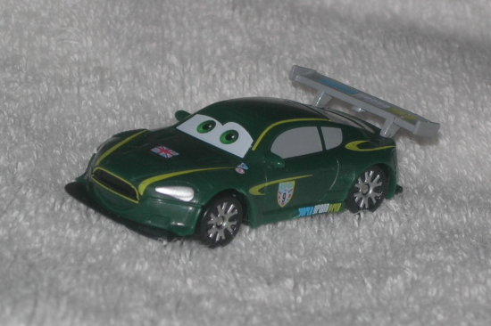 nigel gearsley pixar cars 2 arabalar disney toy car