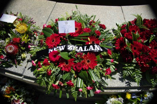 Floral Wreath Government people tribute new zealand perth littleollie