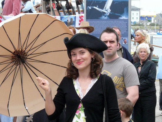 sylvia pirate hat parasol