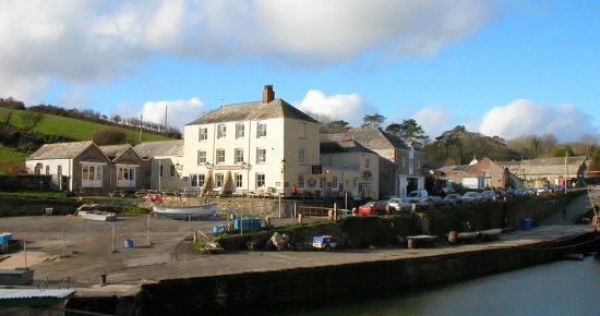 Cornwall Charlestown Hotel Coast Harbour