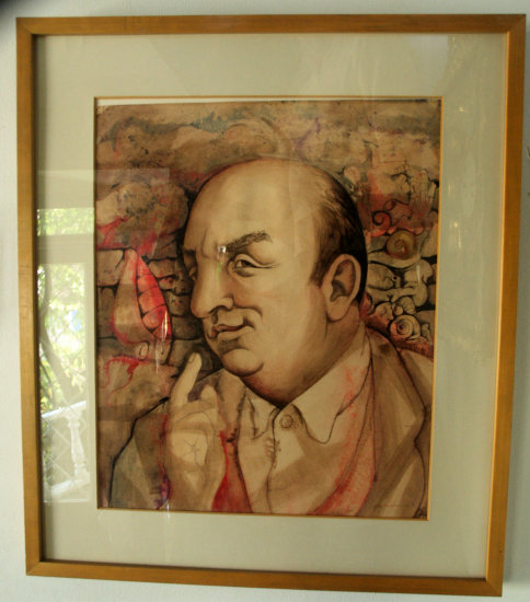 SANTIAGO    NOBEL PRICE WINER  PABLO NERUDA HOUSE   14