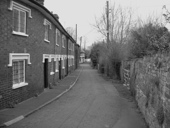 I took this picture of a little side street in Leominster Herefordshre.