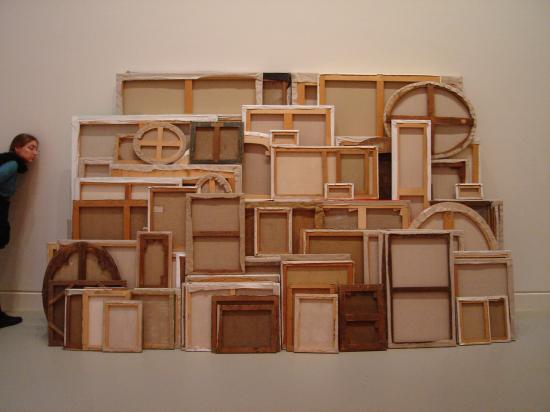 A favorite from the Modern Art Museum in Strasbourg. Wish I could remember who the artist was...