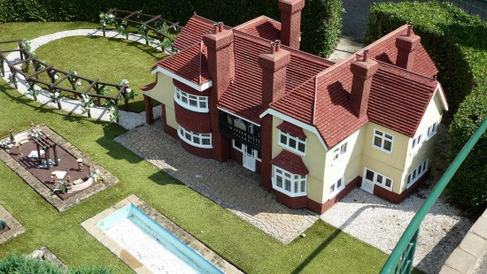 england beaconsfield bekonscot architecture