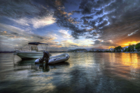 HDR Seascape Sunset