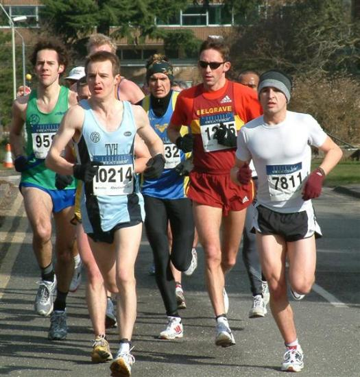 people running action sport road marathon