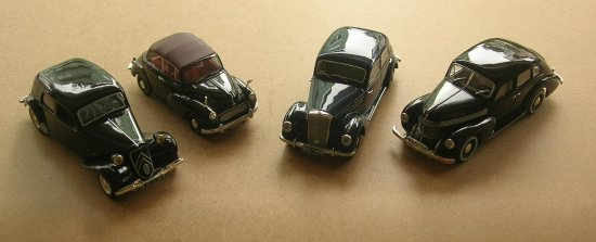 143 scale diecast model toy car 1950s