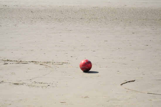 5. .....ball games on the beach ......and ........