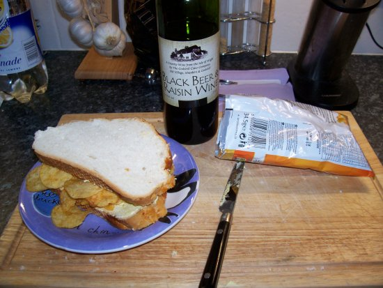 When my housemate works away and I am left to fend for myself things become desperate.  This is m...