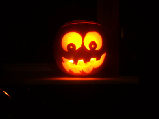Wacky Happy Looney Pumkin