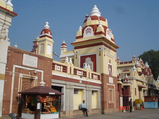 India New Delhi Laxminarayan Temple Birla Mandir