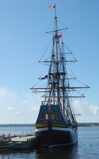 pictou novascotia hector ship