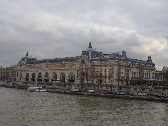 museo dorsay seine paris france