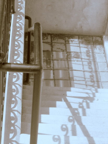 stairs blackandwhite spiral shadow eyes
