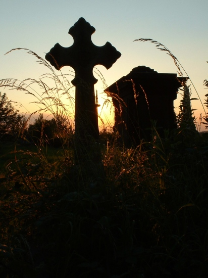 sunset cross cemetery england