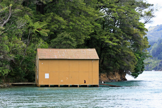 marlboroughsounds marlborough sounds queencharlottesound anakiwa boatshed