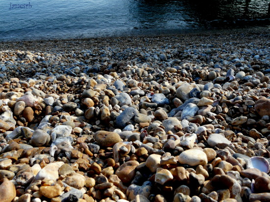Brighton beach pebbles
