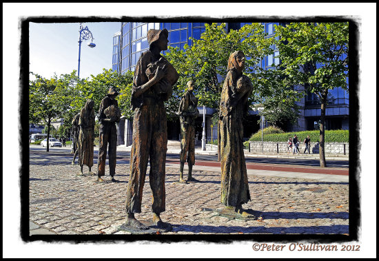 LandmarkFriday2 Famine Sculpture Dublin Ireland