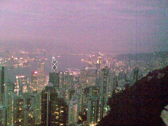 from The Peak Hong Kong