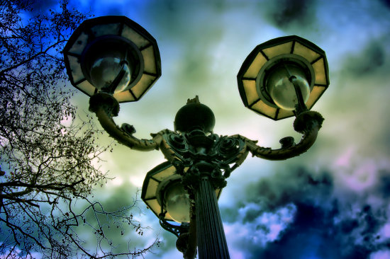 Street Lamp London England UK dotGALLERY