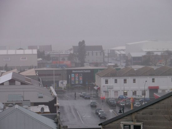 Raining Winter Dunedin