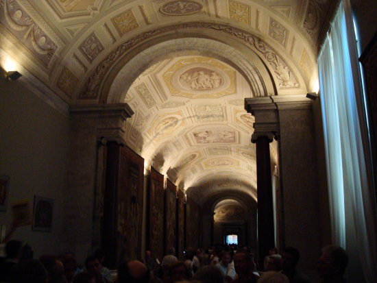 Going to Sistine Chapel - The Vatican Museums.