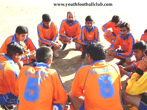 Youth Football Club Mirpur AJK Footballer Player Sportsman Soccer Plan