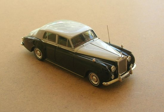 true scale rolls royce model 143 car 1958 silwer cloud