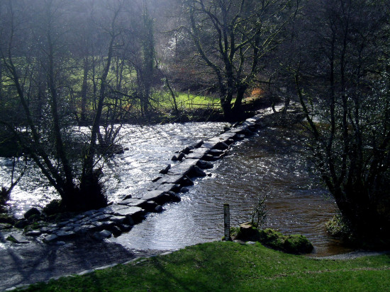 tarr steps river barle somerset archaeology