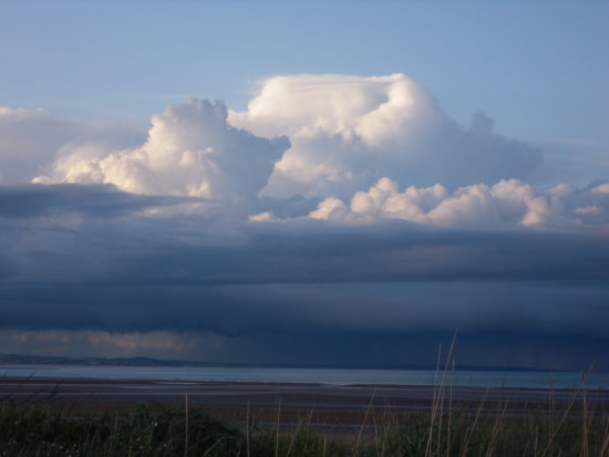 St Andrews westsands Thunderstorm