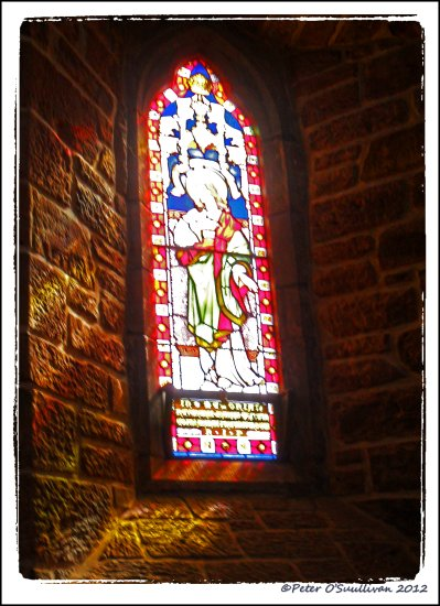 Window Stained_Glass St_Johns Tralee Kerry Ireland