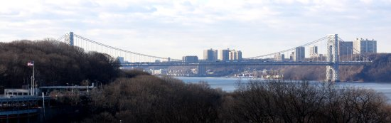 New York Landscape panorama bridge