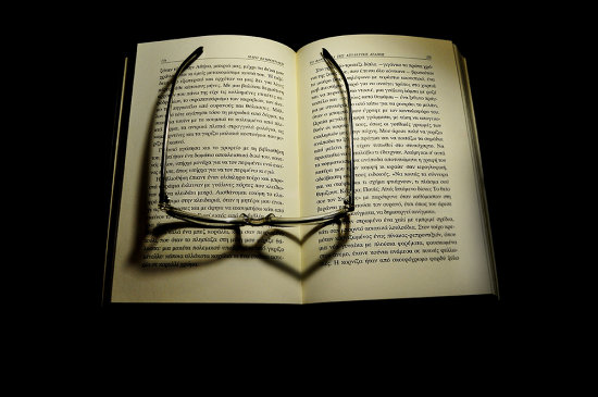 light glasses book