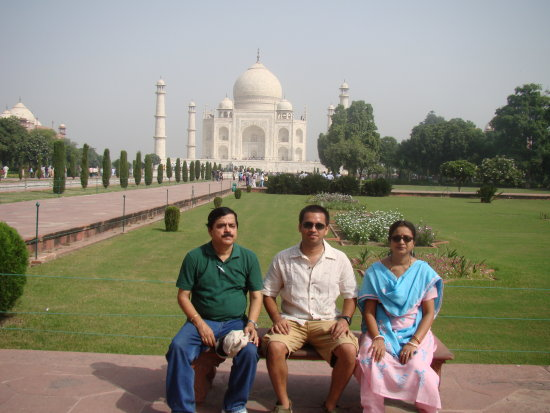 Tajmahal and my family
