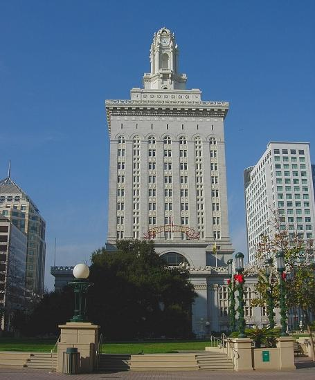 Oakland City Hall was the tallest building west of the Mississippi when it was built, in 1914 (I ...
