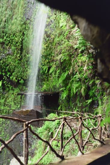 Madeira island Portugal compnature water cannal levada 2005