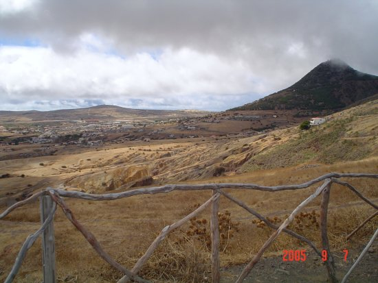 2009 portugal madeira portosanto holidays view summer 2005 ocean dry land town