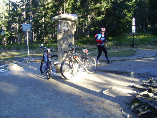 mountais cycling czech bohemia turism