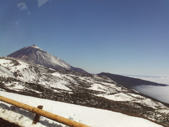 teide tenerife mountain