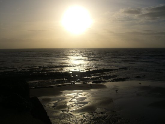 IOW Beach Isle of Wight sea uk sunset sun