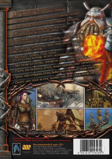 Darkfall Gold MMORPG Game
