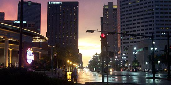 Canal Street at Night.  I'll be honest, My Son, Matt took this in New Orleans.  I thought it dese...