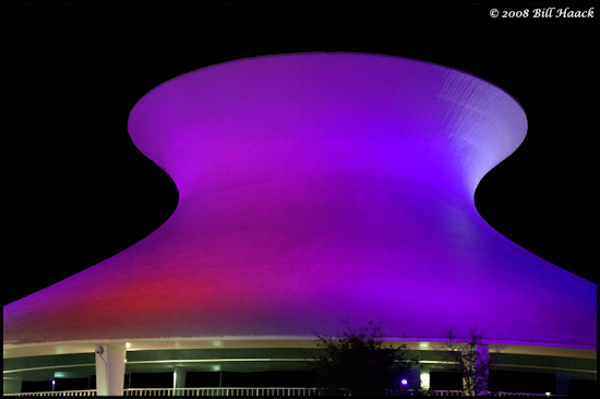 stlouis missouri us usa architecture Planetarium nite purple 091908 2008