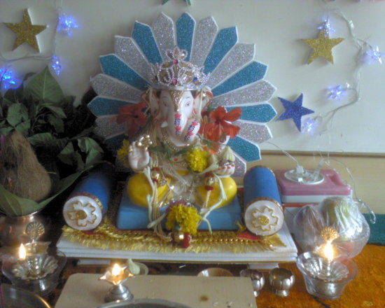 My Friends Relatives House Ganesh Festival Celebration2