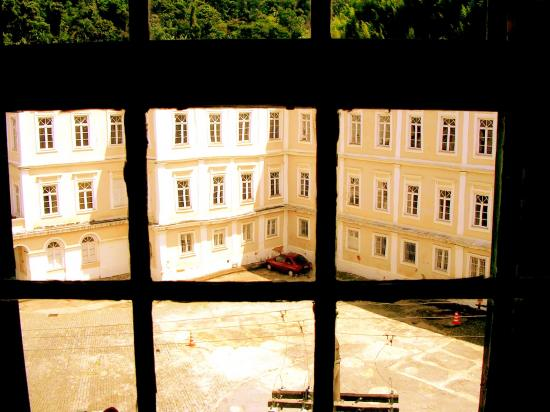 *Between the never and the now*    Window of the magic house  [Santos Dumont's House] Petr...