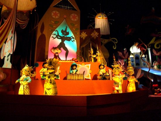 its a small world Walt Disney
