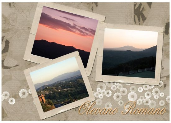 A little collage from my fav. Italian village..;-)