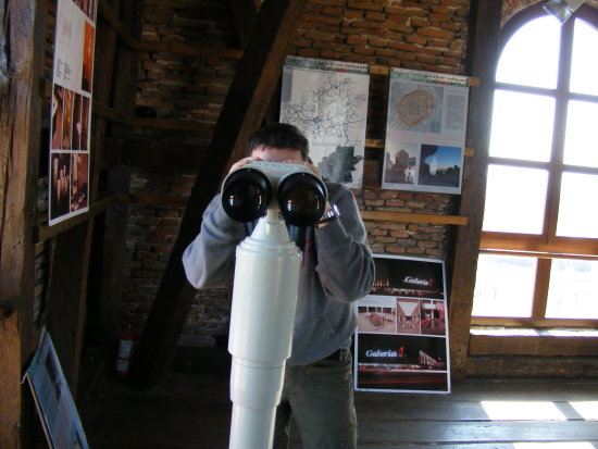 me sibiu council tower binoculars